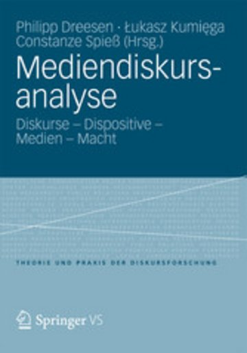 eBook Mediendiskursanalyse Cover