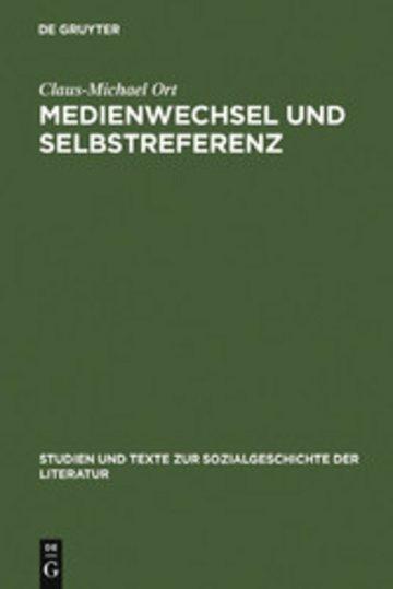 eBook Medienwechsel und Selbstreferenz Cover