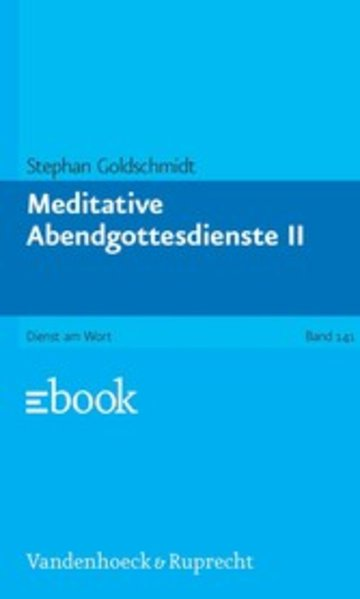 eBook Meditative Abendgottesdienste, Teil 2 Cover