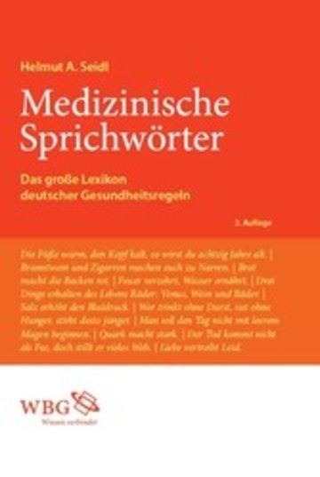 eBook Medizinische Sprichwörter Cover