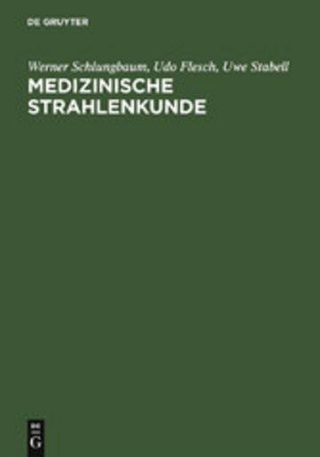 eBook Medizinische Strahlenkunde Cover
