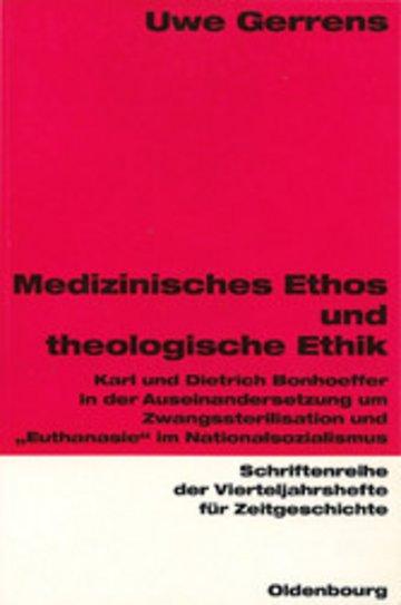 eBook Medizinisches Ethos und theologische Ethik Cover