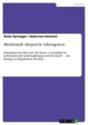 eBook Medizinnah integrierte Salutogenese Cover