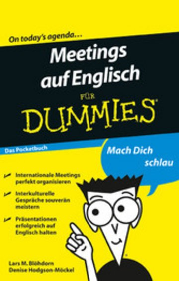 eBook Meetings auf Englisch für Dummies Cover
