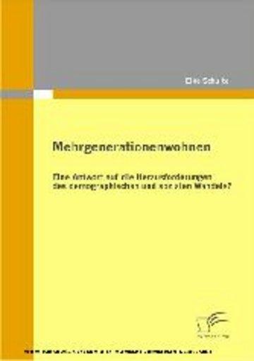 eBook Mehrgenerationenwohnen Cover