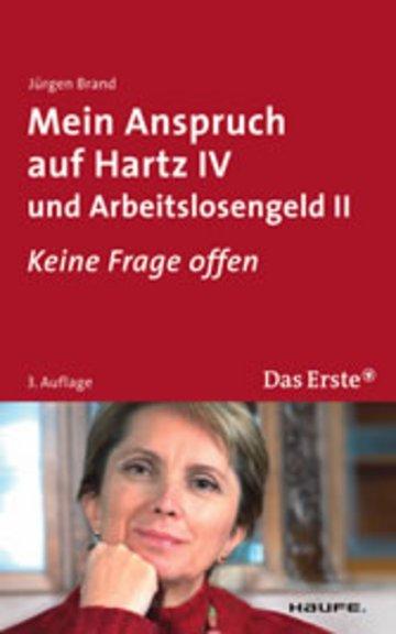 eBook Mein Anspruch auf Hartz IV und Arbeitslosengeld II. ARD Buffet Cover