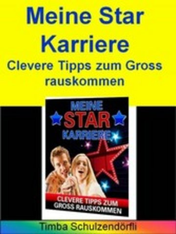eBook Meine Star Karriere Cover
