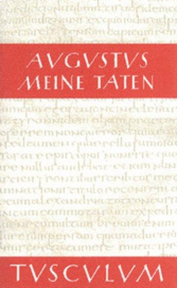 eBook Meine Taten - Res gestae divi Augusti Cover