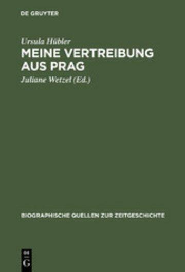 eBook Meine Vertreibung aus Prag Cover