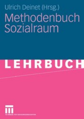 eBook Methodenbuch Sozialraum Cover
