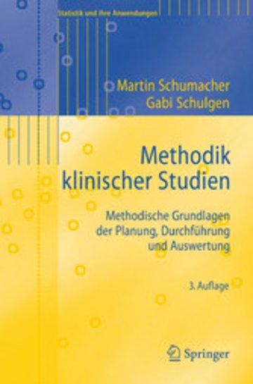 eBook Methodik klinischer Studien Cover