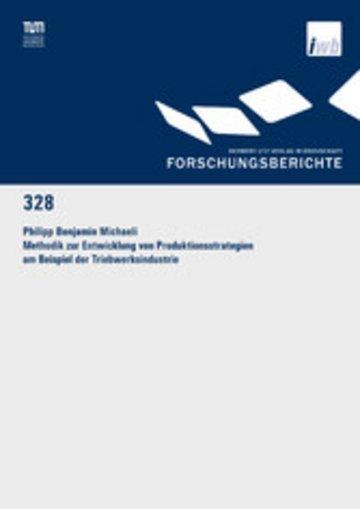 eBook Methodik zur Entwicklung von Produktionsstrategien am Beispiel der Triebwerksindustrie Cover
