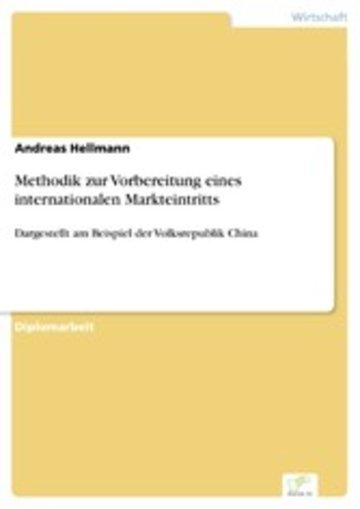 eBook Methodik zur Vorbereitung eines internationalen Markteintritts Cover