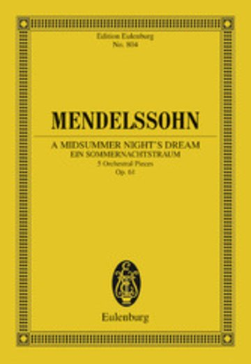eBook A Midsummer Night's Dream Cover