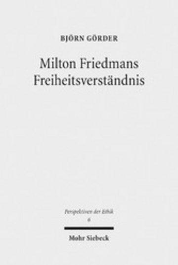 eBook Milton Friedmans Freiheitsverständnis Cover