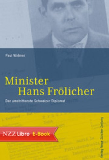 eBook Minister Hans Frölicher Cover