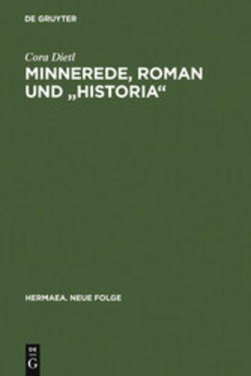 eBook Minnerede, Roman und 'historia' Cover