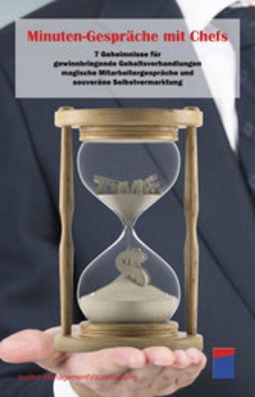 eBook Minuten-Gespräche mit Chefs Cover