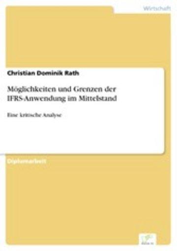 eBook Möglichkeiten und Grenzen der IFRS-Anwendung im Mittelstand Cover