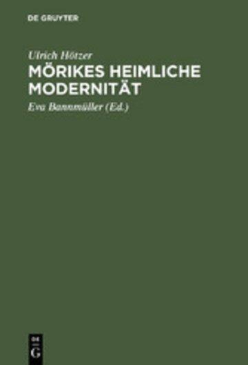 eBook Mörikes heimliche Modernität Cover