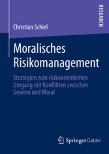 eBook Moralisches Risikomanagement Cover