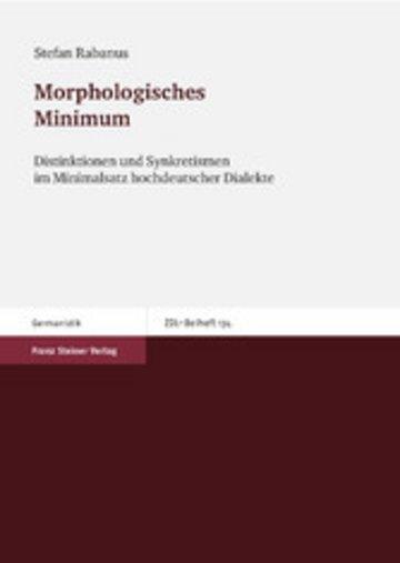 eBook Morphologisches Minimum Cover