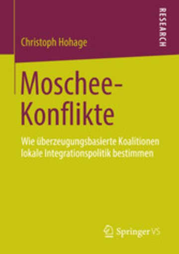 eBook Moschee-Konflikte Cover