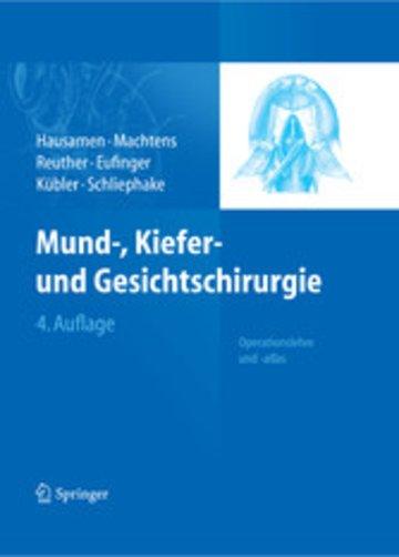 eBook Mund-, Kiefer- und Gesichtschirurgie Cover