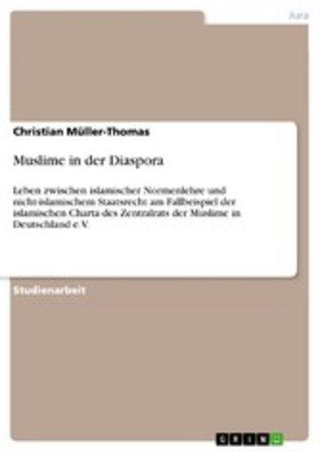 eBook Muslime in der Diaspora Cover