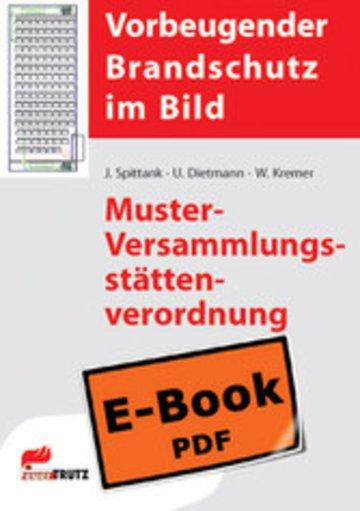 eBook Muster-Versammlungsstättenverordnung Cover