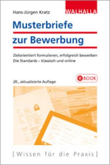 Musterbriefe Zur Bewerbung Magazin Ebook | Fachzeitungen.De
