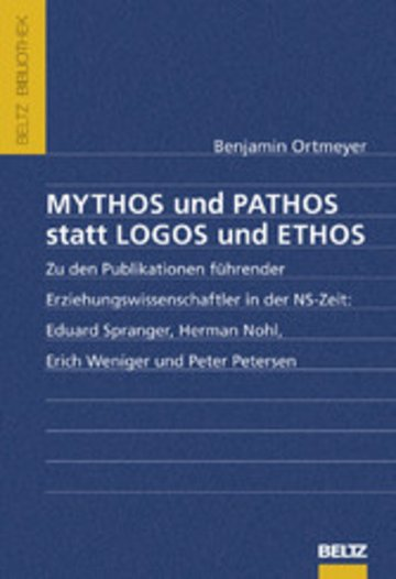 eBook Mythos und Pathos statt Logos und Ethos Cover