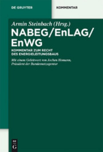 eBook NABEG / EnLAG / EnWG Cover