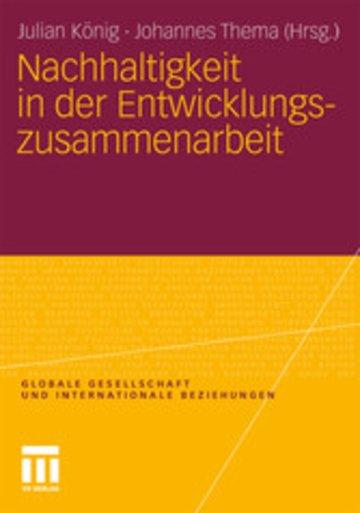 eBook Nachhaltigkeit in der Entwicklungszusammenarbeit Cover