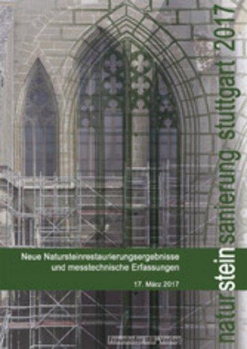 eBook Natursteinsanierung Stuttgart 2017. Cover