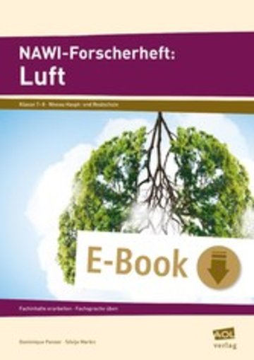 eBook NAWI-Forscherheft: Luft Cover