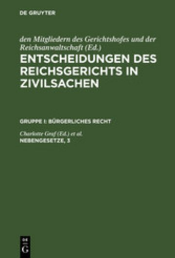 eBook Nebengesetze, 3 Cover