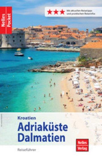 eBook Nelles Pocket Reiseführer Kroatien - Adriaküste, Dalmatien Cover