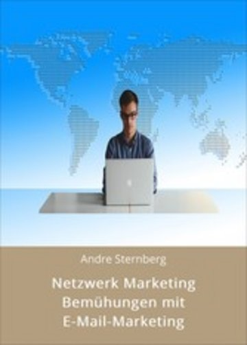eBook Netzwerk Marketing Bemühungen mit E-Mail-Marketing Cover
