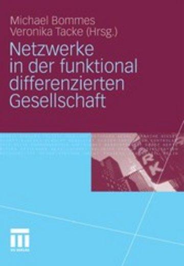 eBook Netzwerke in der funktional differenzierten Gesellschaft Cover