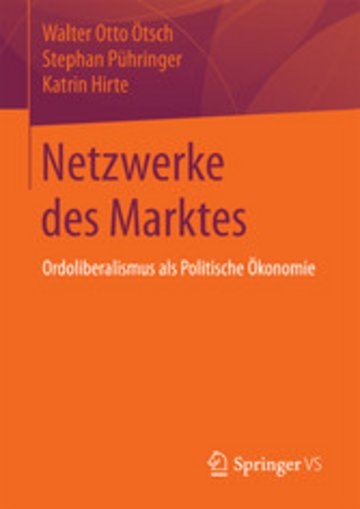 eBook Netzwerke des Marktes Cover