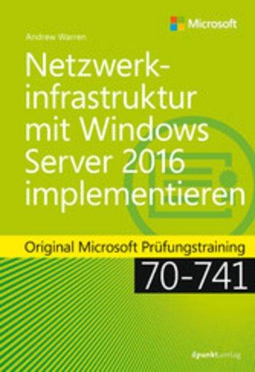 eBook Netzwerkinfrastruktur mit Windows Server 2016 implementieren Cover