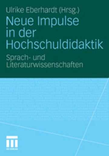 eBook Neue Impulse in der Hochschuldidaktik Cover