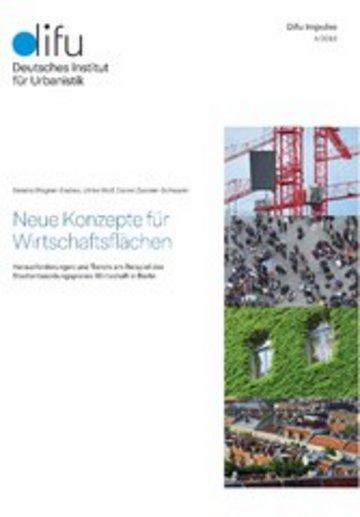 eBook Neue Konzepte für Wirtschaftsflächen Cover