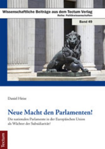 eBook Neue Macht den Parlamenten! Cover