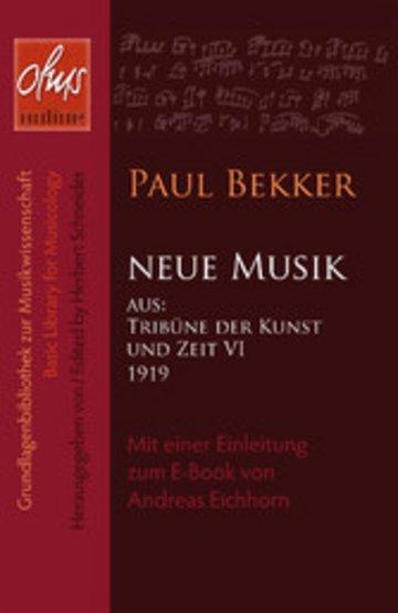 eBook Neue Musik Cover