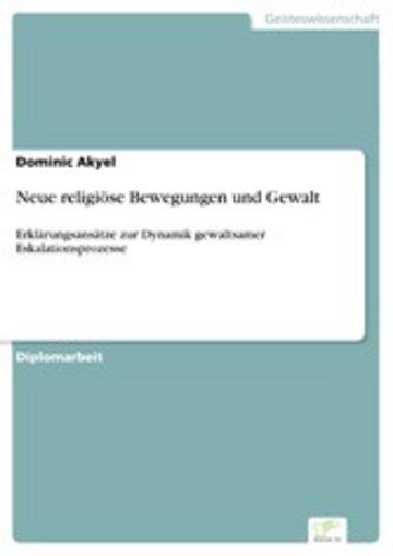 eBook Neue religiöse Bewegungen und Gewalt Cover