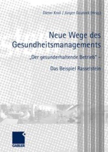 eBook Neue Wege des Gesundheitsmanagements Cover