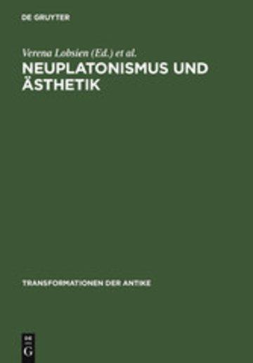 eBook Neuplatonismus und Ästhetik Cover