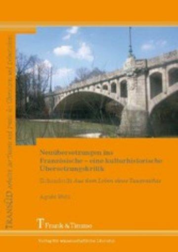 eBook Neuübersetzungen ins Französische - eine kulturhistorische Übersetzungskritik Cover